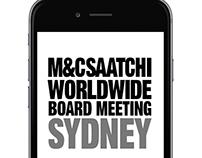 M&C Saatchi Worldwide Board Meeting App