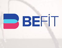 BEFIT Health & Fitness Logo Design