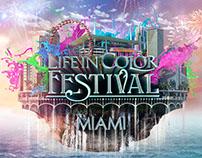 Life in Color Miami Festival 2016