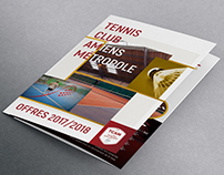 Tennis Club Amiens Métropole - Brochure & Poster