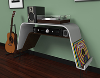 Sveta Turntable Stand 3D Concept