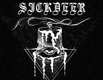 Artwork and CD design for Sickdeer