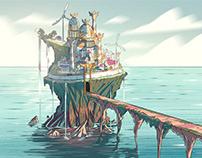 Animation Backgrounds of Yarob
