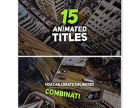 Minimal Elegant Titles // Videohive