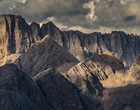 Dolomites. August