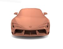 Toyota SUPRA Vision Concept (Clay Model)