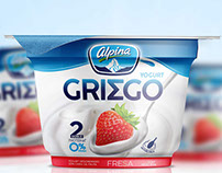 Yogurt Griego Alpina