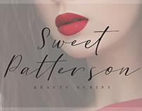 Sweet Patterson - Beauty Font
