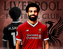 Photoshop POSTER | SALAH is RED ♥ |