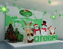 Careem's Office Christmas Branding
