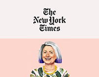 HIPSTORY Hillary Clinton for the New York Time