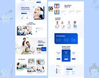 Dentist Web Design Landing Page - UI/ UX