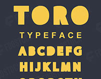 TORO FONT (Free Download)