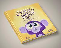 """Book """"O Macaco Roxo"""""""