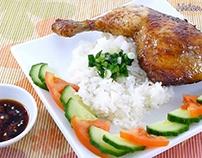 cách làm Gà Roti– Vietnamese Roasted Chicken