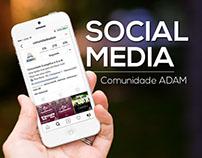 SOCIAL MEDIA - Comunidade ADAM
