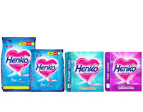 Henko Branding and packaging revamp