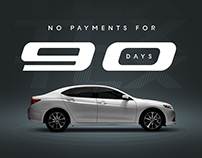 Tier II Acura Dealers // 'This Is How' Campaign Assets