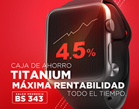 Cuenta de ahorro TITANIUM Banco Econónimo