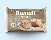 "Buondì Motta new variant ""Integrale"" (whole flour)"