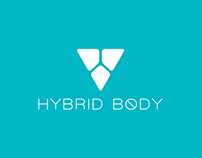 Hybrid Body - Fitness Brand Identity