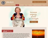 Healing Consultant Site - Custom Web Design