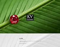 KV gems Website Design & Photography Project
