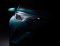 C-HR Toyota fine art (FDL technique)