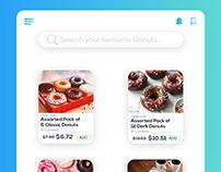 Donut App UI Design