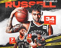D'Angelo Russell | Brooklyn Net | Stats