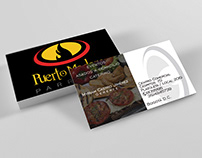 Puerto Madero - Business Card