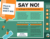 Pills & Pipes Don't Mix: Drug Disposal Campaign