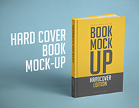 Hardcover Book Mock-up Template PSD
