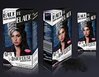 BACK to BLACK hair dye
