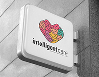 Intelligent Care Logo Template