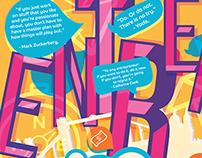 Entrepreneur Infographic Mural