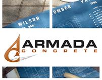 Armada Concrete • Tri-Fold Brochure Design