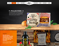Texas Longhorn - Homepage Concept