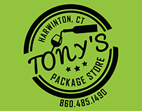 Tony's Package Store T-shirts