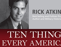 Rick Atkinson Lecture Poster