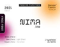 NIMA - Modern Display Typeface