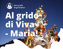 Web Design for Gratia Plena a Non-Profit Organisation
