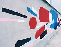 Mural for school