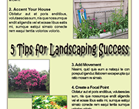 Landscaping Magazine Layouts