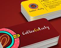 CoffeeGoLucky- Brand Identity