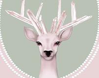 Pastel Deer / Print