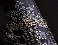 Far King Shiraz Wine Label