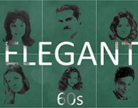 Elegant Egyptian actors in 60's