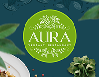 Aura Verdant Restaurant - Web site