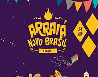 Arraiá Novo Brasil